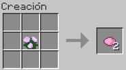 Creacion del tinte rosa con peonia