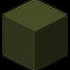 Arcilla tintada de verde