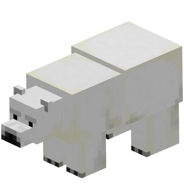 Oso Polar Minecraftpedia FANDOM Powered By Wikia - Skin para minecraft pe oso