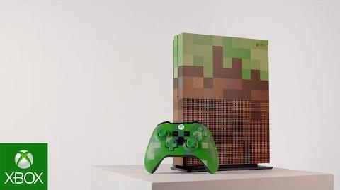 Espartannoble6/Sé Parte del Fandom de Minecraft con el Paquete de Edición Limitada de Minecraft y Xbox One S