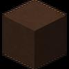 Arcilla tintada de marrón