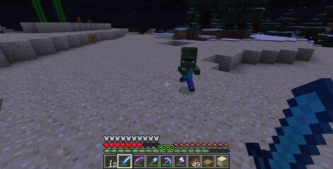 Zombie aldeano bebe