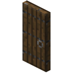 Puerta de abeto