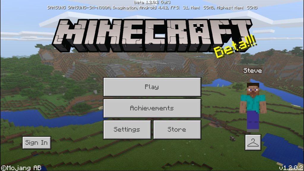 1.2 Beta (PE) Build 1 | Minecraftpedia | FANDOM powered by Wikia