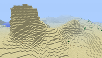 Desierto con colinas