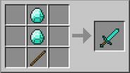 Creacion espada de diamante