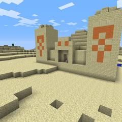 A Desert Temple