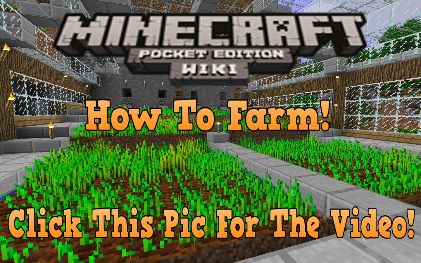 farmpic - Minecraft Pe Garden Ideas