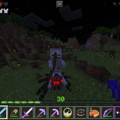 Skeleton-Spider Jockey