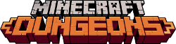 Wordmark Minecraft Dungeons