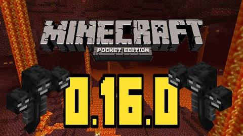 MCPE 0.16.0 WITHER, SEA MONUMENTS, & MORE!