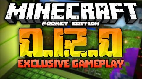 0.12.0 UPDATE GAMEPLAY!!! - Nether, Sprinting, Potions, Weather & MORE! - Minecraft Pocket Edition