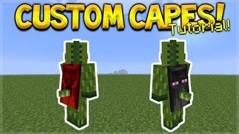 Video - HOW TO USE CUSTOM CAPES IN MCPE 1 2- Minecraft