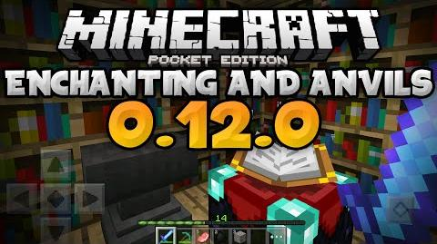 ENCHANTING, ANVILS, and EXPERIENCE in 0.12.0 - Update Review - Minecraft PE (Pocket Edition)