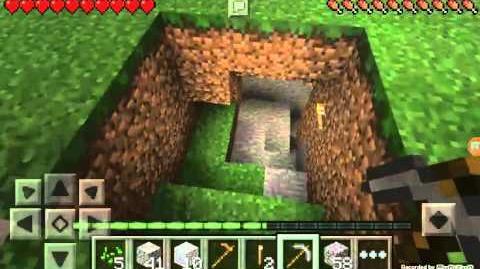 Minecraft Pocket Edition Part 4 Mining and Stuff
