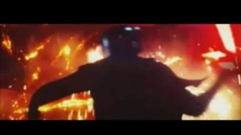Star Wars The Force Awakens Kylo Ren Angry Clip