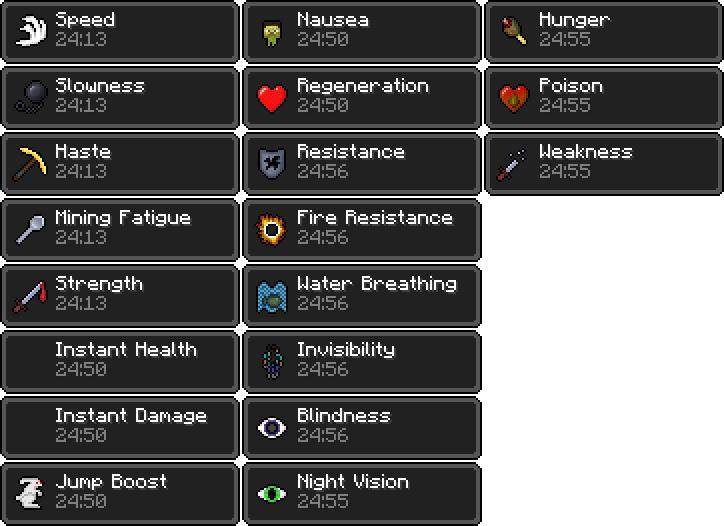 Status Effects | Minecraft Bedrock Wiki | FANDOM powered by Wikia