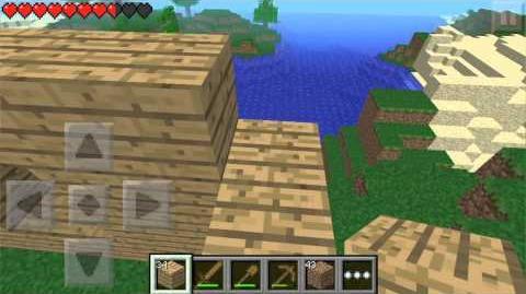 Minecraft -- Pocket Edition New Trailer )