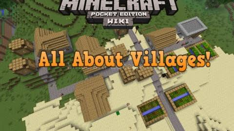 MCPE Wiki Guide All About Villages!