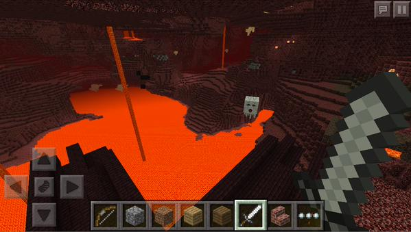 Nether | Minecraft Bedrock Wiki | FANDOM powered by Wikia