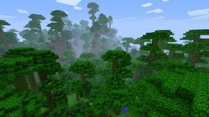 Taiga Biome Minecraft