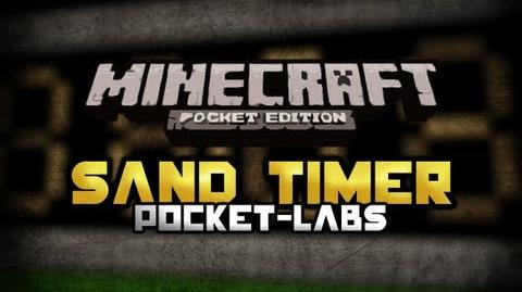 Sand Timer or Clock Minecraft Pocket Edition Pocket-Labs EP 5