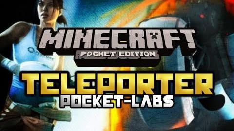Teleporters Minecraft Pocket Edition Pocket-Labs EP 7