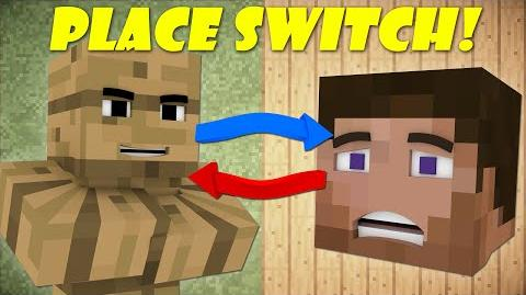 If Players And Blocks Switched Places - Minecraft