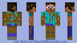 Muddy minecraft skin-335339