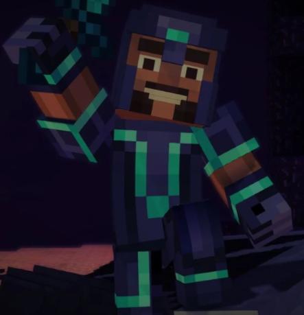 Gabriel the Warrior | Minecraft Story Mode Wiki | FANDOM