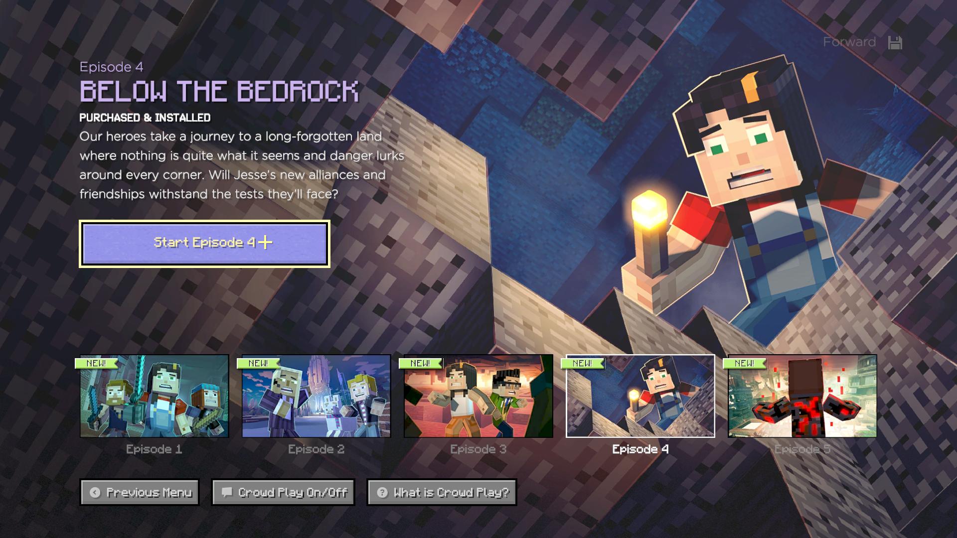 User blog:Order of the Female Jesse/Minecraft Story Mode