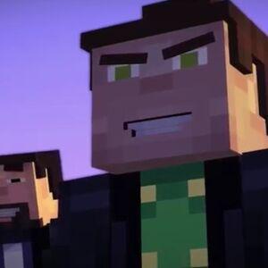 aiden minecraft story mode fanart