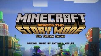 Antimo & Welles - I'll Be My Own Friend Official Minecraft Story Mode - Season 2