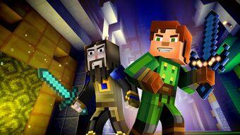Sword Minecraft Story Mode Wiki Fandom