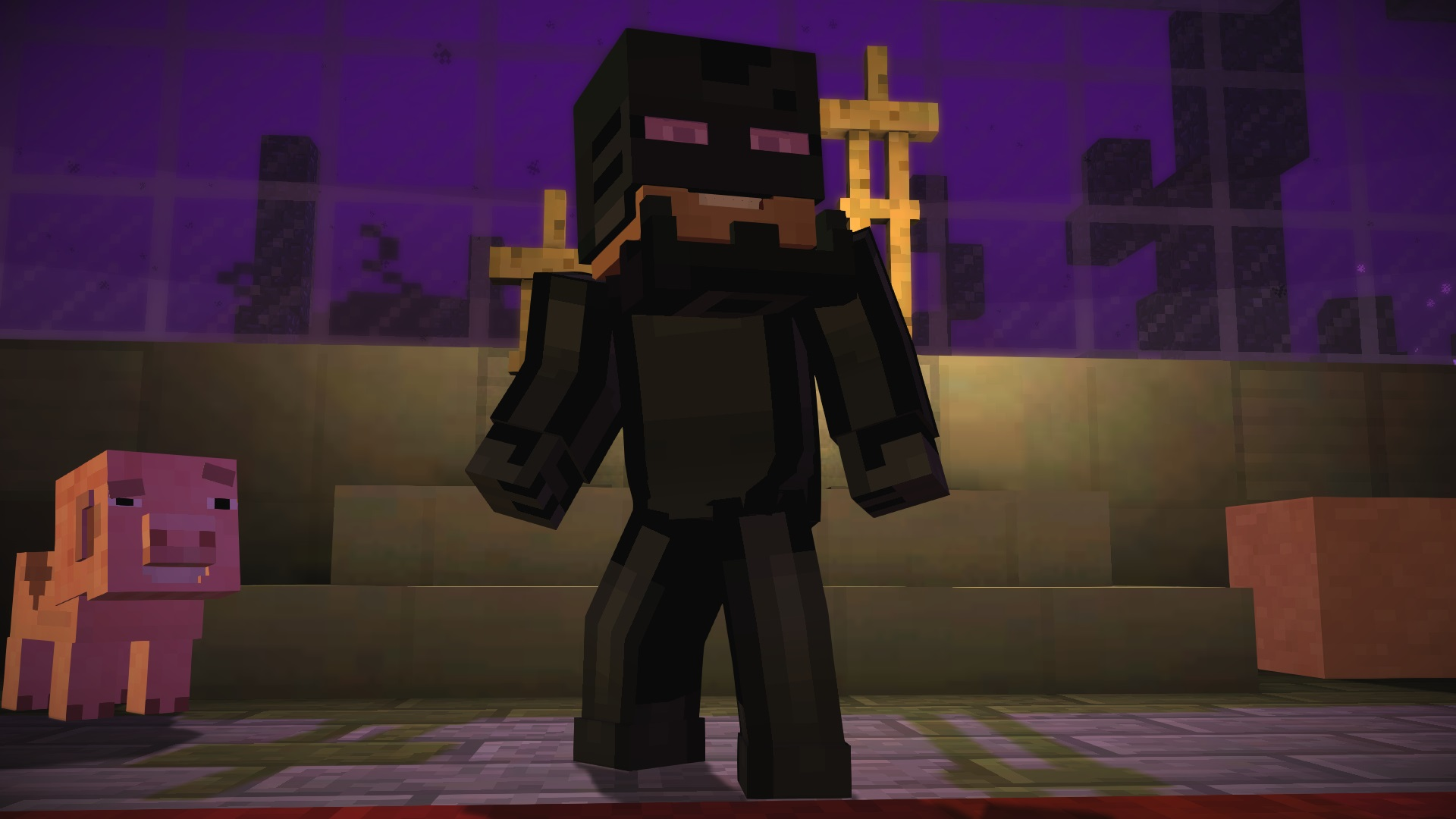 Enderman Suit | Minecraft Story Mode Wiki | FANDOM powered