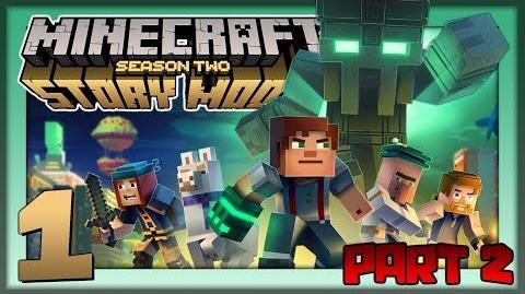 Minecraft Story Mode S2 Pt. 2 The Prismarine Gaunlet