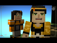 Minecraft storymode they look so alike spoilers by xxdragonfirex-d9x7lnu-1-
