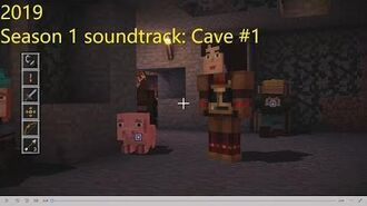 Minecraft Story Mode Season 1 soundtrack 'Cave' ( 1)