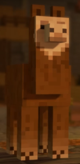 Image Brown Llama Png Minecraft Story Mode Wiki Fandom Powered
