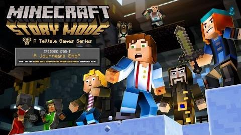 'Minecraft Story Mode' Episode 8 - 'A Journey's End?' Trailer-0
