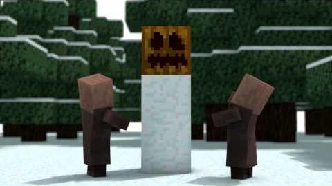 Christmas With The Villagers BACKWARDS (Minecraft Animation)