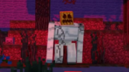 Iron Golem with a Pumpkin Head