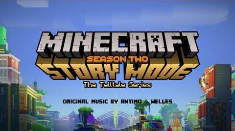 Antimo & Welles - Friends till Death Official Minecraft Story Mode - Season 2