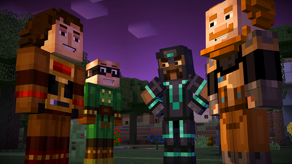 minecraft story mode mod apk download