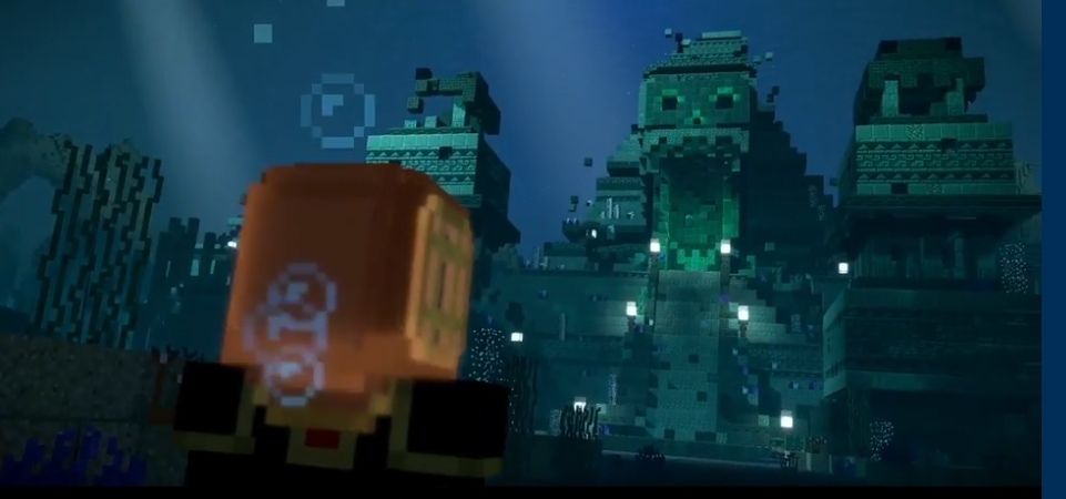 big sale 6e6bf 69a4f Sea Temple | Minecraft Story Mode Wiki | FANDOM powered by Wikia