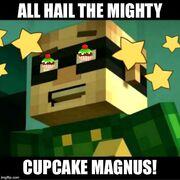 Cupcake Magnus meme