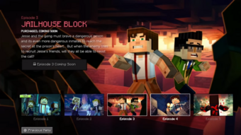 Jailhouse Block Minecraft Story Mode Wiki Fandom