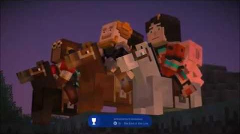 Minecraft Story Mode - Just Like Fire