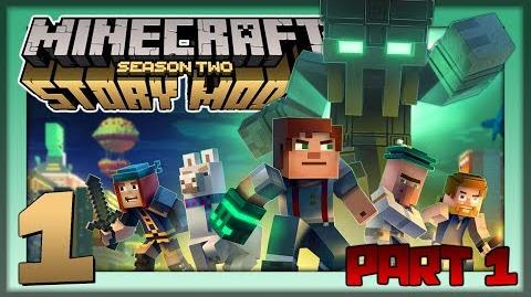 Minecraft Story Mode S2 Pt.1 I am the Mayor!