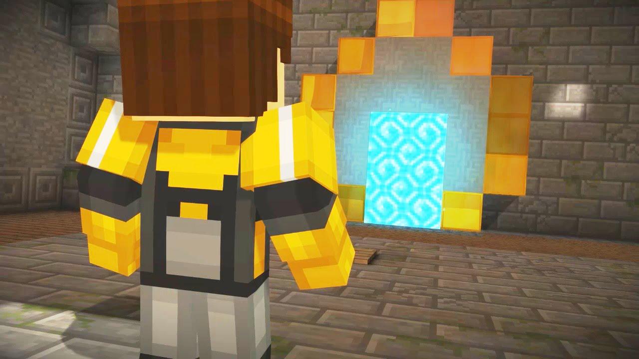 sky city portal minecraft story mode wiki fandom. Black Bedroom Furniture Sets. Home Design Ideas